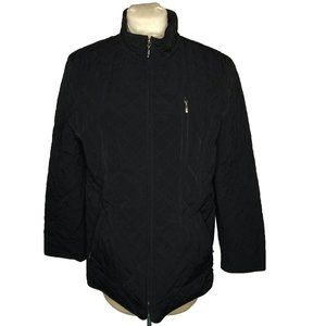 Liz Claiborne Full Zip Quilted Jacket Long Sleeve